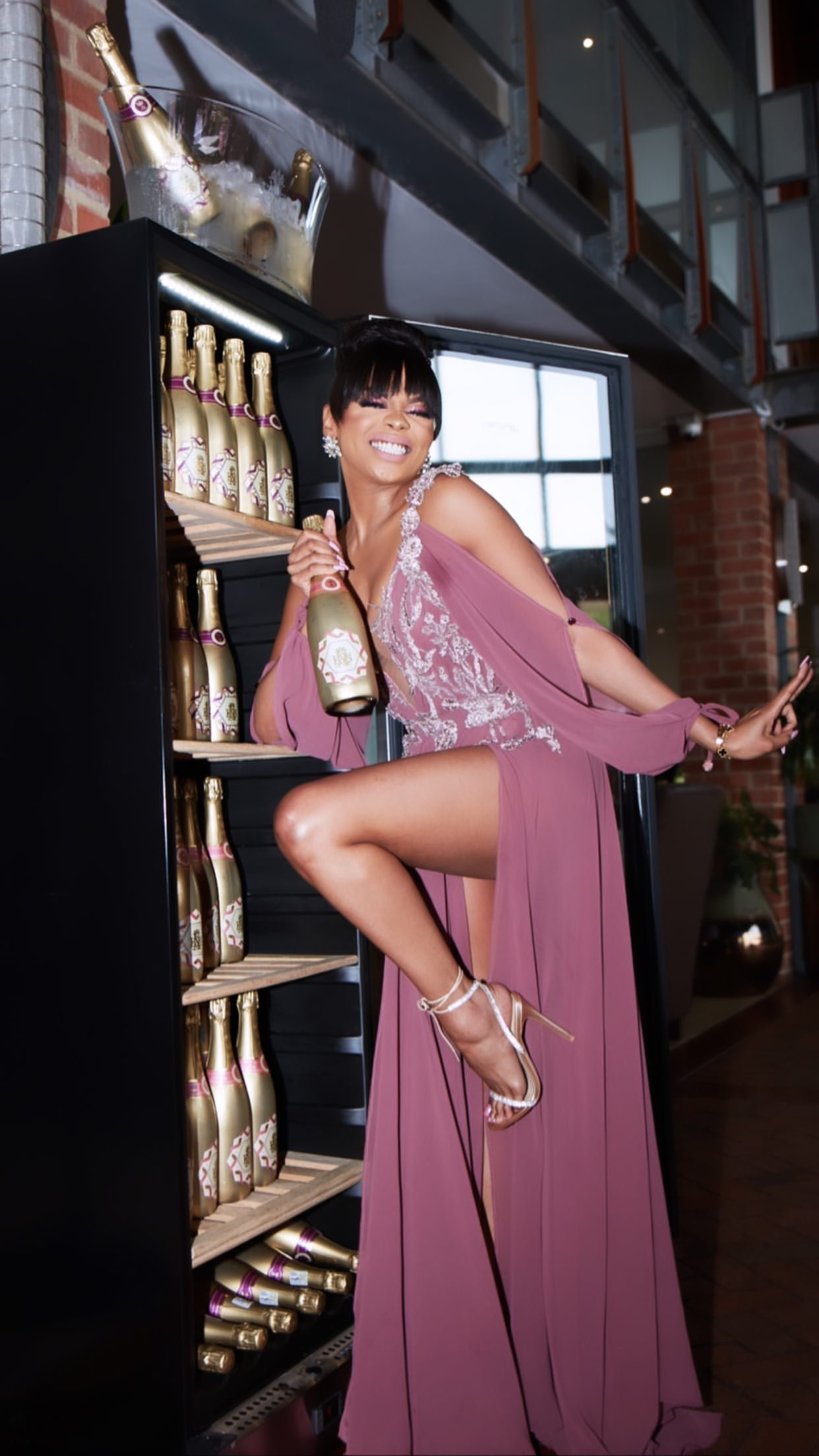 Bonang Matheba talks about being a black businesswoman in the wine market